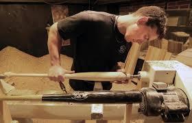 maine baseball bat maker is virtually a one man operation the