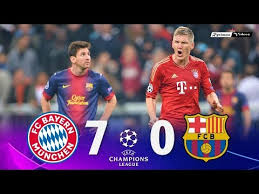 Check spelling or type a new query. Bayern Munich 7 X 0 Barcelona Ucl 12 13 Extended Goals Highlights Hd Shareonsport Com
