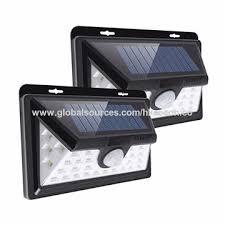 china solar rechargeable led solar light bulb outdoor garden lamp decoration pir motion sensor light