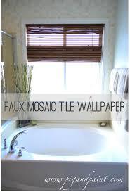 Bathroom Tile Wallpaper 17 Best Ideas About Tile Wallpaper On Pinterest Moroccan Tiles
