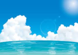 海 背景 イラスト 7331 イラス