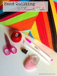 194 best Quilt tools & gadgets images on Pinterest | Gadgets ... & Hand Quilting - My 5 Favourite Tools Adamdwight.com