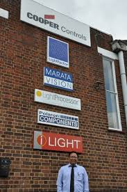 lighting controls training at cooper office in watford uk