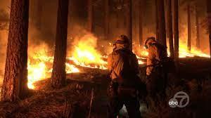 Tamarack Fire: Wildfire burning near ...