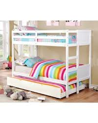 Santucci Full Over Bunk Bed With Drawers Frame Color: White, Size: Amazing Deal on