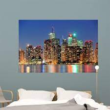 Toronto Cityscape City Skyline Wall ...