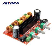 Aiyima <b>TPA3116 2.1 Digital Audio</b> Amplifier Board TPA3116D2 ...
