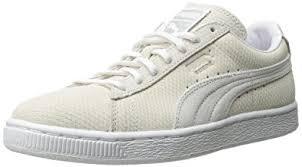 puma shoes suede white. puma women\u0027s suede classic lo winterized sneaker, vaporous gray/white, puma shoes white