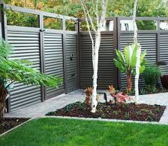 corrugated metal fence how much does a cost privacy diy panels