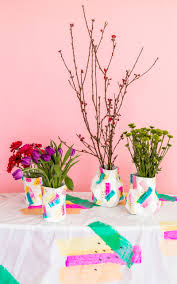 Flower Paper Mache Paper Mache Diy Flower Vase A Subtle Revelry