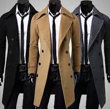 hot long wool coat mens double ted trench coats whole men simple luxury men overcoat trench coat men overcoat long wool coat with