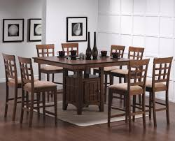 counter height dining table and chair set