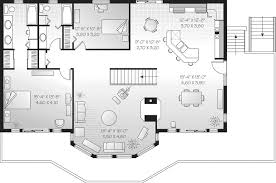 Chasetown Luxury Mountain Home Plan D    House Plans and MoreSecond Floor   D    House Plans and More