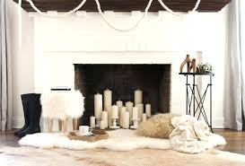 fireplace with candles inside inside home decor ideas brilliant decoration gallery fireplace fireplace candles holders