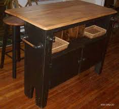 drop leaf kitchen island wes dalgo cart with all wood movable