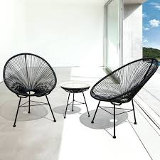 Modern Wicker Patio Chairs By Set Of 2 Free Throughout Furniture Prepare Mid Century