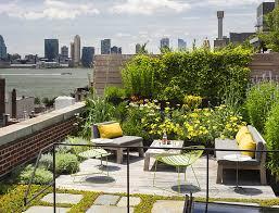 converted caviar warehouse in new york features sunken interior court. Rooftop  GardensRooftop ...