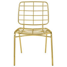 outdoor metal chair. Bloomingville Metal Chair Gold Outdoor