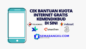 Maybe you would like to learn more about one of these? Cara Cek Bantuan Kuota Internet Gratis Kemendikbud Untuk Smartfren Telkomsel Tri Indosat Dan Xl Semarangku