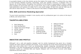 Graphic Designer Resume Example Financial Associate Cover Letter