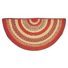 red circle rug classic country rugs jute half by brands on dot small oriental round
