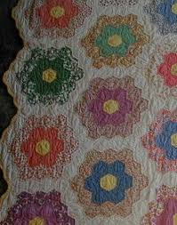 Grandmothers Flower Garden Quilt, Honeycomb & Hexagon Quilts & grandmothers flower garden Adamdwight.com