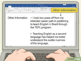 English Curriculum Vitae How To Write A Cv Or Curriculum Vitae With Free Sample Cv
