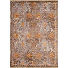 monaco st martin burnt orange 10 ft x 13 ft area rug