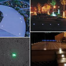 ip67 24mm mini led deck lights 12v 0 6w recessed led stairs lamp for outdoor lighting garden path aluminum floor lamps in underground lamps from lights