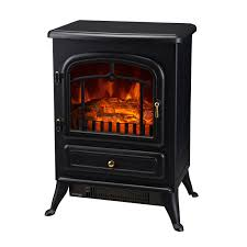 homcom 16 750w 1500w adjule electric fireplace free standing fire flame stove heater