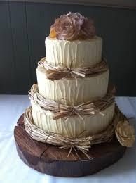 Rustic Wedding Cake Caramel Mud Cake Chocolate Mud Cake