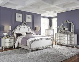 White Bedroom Furniture Decorating Ideas Traditional Antique White ...