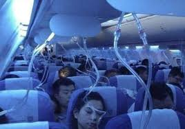 Asian capital trains with oxygen masks
