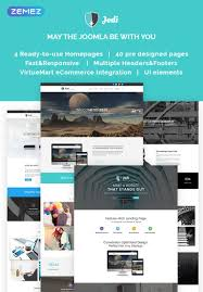 Joomla Design Jedi Multifunctional Joomla Template New Website