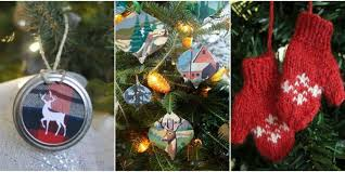 Christmas Decoration Design 100 Homemade Christmas Ornaments DIY Crafts with Christmas Tree 97