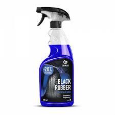 """<b>Полироль</b> чернитель <b>шин</b> """"Black rubber"""" (флакон 600 мл) - купить ..."""