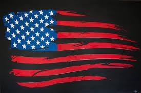 saatchi art artist charles campos painting american flag art