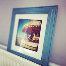 diy distressed picture frame via florencefinds