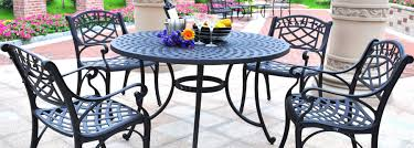 joss and main dining tables. 5 Piece Cast Aluminum Outdoor Dining Set With Arm Chairs - Every Patio Needs A Good Of Furniture. Specifically, The Crosley Sedona 48 In. Joss And Main Tables Q