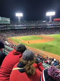 Stubhub Fenway Seating Chart Fenway Park Section Right Field Roof Deck Box 25 Row B