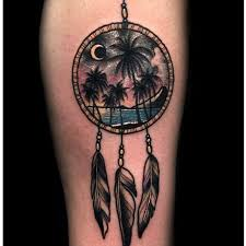 Beach Dream Catchers The Dreamcatcher Tattoos of Your Dreams Tattoodo 43