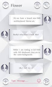 go sms pro pure theme 3 60 screenshot 2