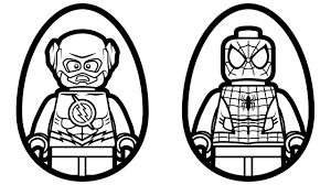 Hurry Lego Flash Coloring Pages Free Printable 22848