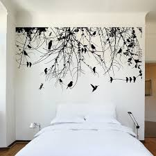 5 tree branch wall decal