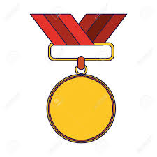 Medal Award Blank Symbol Vector Illustration Graphic Design