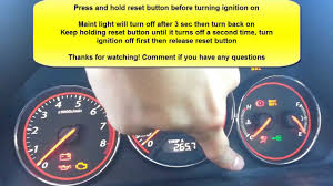 2005 Honda Civic Maintenance Required Light How To Reset Maint Light Honda Civic Acura El