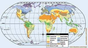 Climates Studying World Climates Climate Information Matrix Geography 101