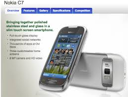 nokia phones touch screen slim. nokia making u.s. in-roads with c7 slated for t-mobile usa launch? phones touch screen slim