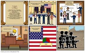 Ensure Domestic Tranquility The Preamble Comic Strip Storyboard By Peeplove6