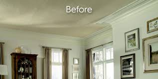 easily cover popcorn ceilings with surface mount options